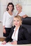 Группа в составе коммерсантки в офисе Стоковое Изображение RF