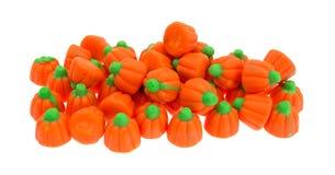 Группа в составе конфета тыквы хеллоуина Стоковое Изображение RF