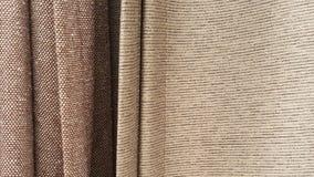 Группа в составе коричневый выбор рулона ткани/запас серой ткани для дела дизайна моды Стоковые Изображения RF