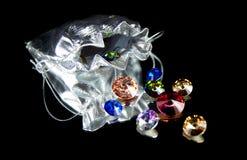 Группа в составе красивые сияющие кристаллы Стоковые Фотографии RF
