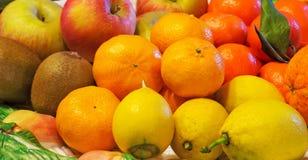 Группа в составе красочные плодоовощи Стоковые Фотографии RF