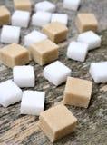 Группа в составе кубы сахара стоковое фото rf