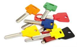 Цветастые ключи Стоковое Изображение RF