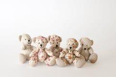 Группа в составе милые медведи стоковая фотография rf