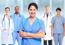 Группа в составе доктора больницы стоковое изображение