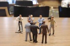 группа в составе отметка фильма диаграммы игрушки Стоковая Фотография RF