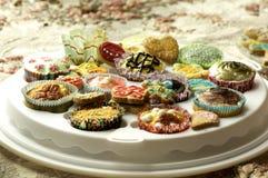 Группа в составе пирожные и печенья Стоковое Фото