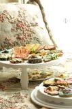 Группа в составе пирожные и печенья Стоковая Фотография RF