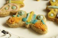 Группа в составе пирожные и печенья Стоковое Изображение RF