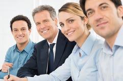Группа в составе предприниматели стоковая фотография