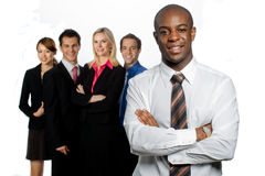 Группа в составе профессионалы стоковое фото