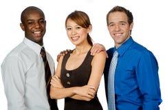 Группа в составе профессионалы стоковые фотографии rf