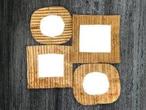 Группа в составе пустые рамки картона Стоковые Изображения RF
