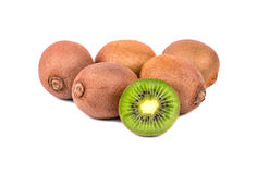 Группа в составе плодоовощ кивиа Стоковое Фото