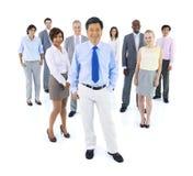 Группа в составе разнообразные бизнесмены Стоковая Фотография RF