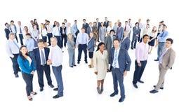 Группа в составе разнообразные бизнесмены стоковые фото