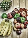 Группа в составе различные плодоовощи Стоковые Изображения RF