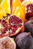 Группа в составе свежие фрукты Стоковые Изображения