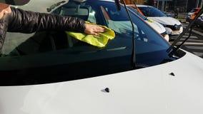 Группа в составе современные автомобили делить автомобиля сток-видео