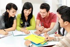 Группа в составе студенты Стоковое Фото