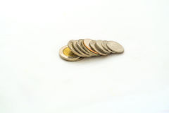 Группа в составе тайская монетка ванны стоковое изображение rf
