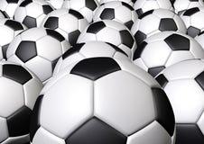 Группа в составе футбол футбола Стоковые Фото