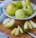 Группа в составе яблоки Стоковые Фото