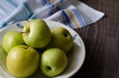 Группа в составе яблоки Стоковые Фотографии RF