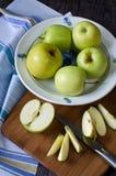 Группа в составе яблоки Стоковая Фотография RF