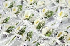 Boutonnieres лилии Calla Стоковое Изображение