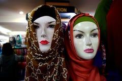 Группа в составе hijab на манекене стоковая фотография