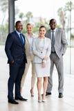 Группа в составе multiracial предприниматели стоковое фото rf