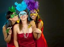 Группа в составе partying женщин Стоковая Фотография RF