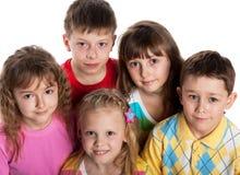 группа детей Стоковые Изображения RF