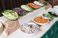 группа еды vegettarian Стоковое Изображение