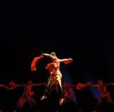 группа людей танцульки китайца Стоковая Фотография RF
