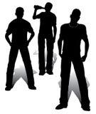 группа мальчиков Стоковая Фотография RF