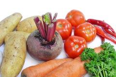 группа овощей Стоковое Изображение RF