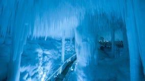 Группа пещеры льда Yunqiushan стоковые фото