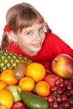 группа плодоовощ ребенка Стоковое Изображение RF