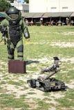 Группа по обнаружению и обезвреживанию взрывных устройств (Deminage) Стоковое Изображение