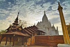 Группа положения-myet-hna, Bagan стоковая фотография