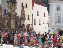 Группа путешествия детей Стоковое Изображение RF