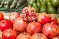 Группа плодоовощ гранатового дерева Стоковое Изображение