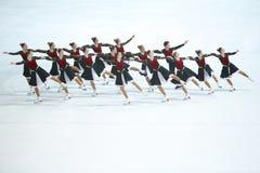 Группа старшия мечт команды холодная Стоковое Изображение