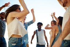 Группа танцев Стоковое Фото