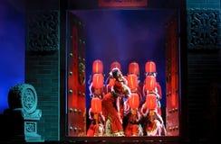 группа танцульки китайца Стоковое Изображение
