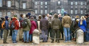 Группа туриста крупного плана Стоковые Изображения RF