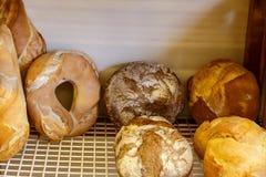Группа хлеба от хлебопекарни Стоковые Фото