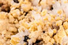 Группа цинк-пирита, макроса сфалерита Стоковые Фото
